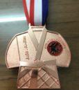 in dây đeo huy chương